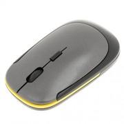 Baoblaze Ultra-Slim Mini USB 2. 4G Wireless Optical Mouse Mice 1600 DPI for PC Grey
