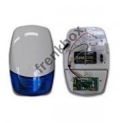 Sirena LED da esterno wireless o via cavo con trasmettitore per DEFENDER