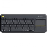 Logitech K400 Plus Wireless Keyboard (Black) ( WARRANTY- 1 YEAR MANUFACTURING)