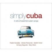 Artisti Diversi - Simply Cuba -60tr- (0698458244024) (4 CD)