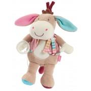 babyFEHN - Donkey speldosa mjukdjur