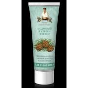 Balsam emolient pentru picioare cu laptisor de cedru siberian - piele uscata
