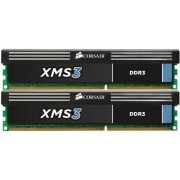 Corsair CMX8GX3M2A1333C9 XMS3 Memoria per Desktop a Elevate Prestazioni da 8 GB (2x4 GB), DDR3, 1333 MHz, CL9