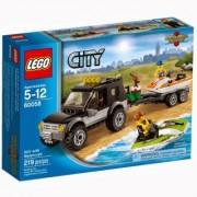 Lego City Džip sa prikolicom za skutere 60058