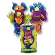 Melissa & Doug Deluxe Fuzzy Make-Your-Own Monster Puppet