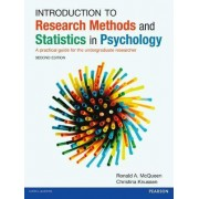 Introduction to Research Methods and Statistics in Psychology by Ron Mcqueen