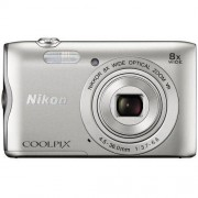 Nikon Aparat NIKON Coolpix A300 Srebrny + DARMOWY TRANSPORT!