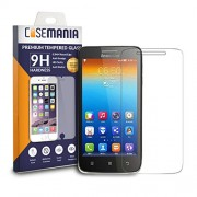 Lenovo S650 Tempered Glass Screen Guard Protector Ultra Strong (9H)-Slim by CaseMania with Gift Card of Rs.200.