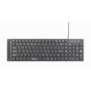 Tastatura GEMBIRD Multimedia USB Black (KB-MCH-01)