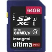Card Memorie Integral MicroSDXC Ultima Pro 64GB Clasa 10 inmsdx64g10-80u1