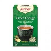 Yogi Tea, USA Herbata Zielona Energia BIO (Yogi Tea) 17saszetek x 1,8g