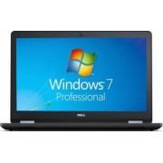 Laptop Dell Latitude E5570 Intel Core Skylake i5-6440HQ 500GB-7200rpm 4GB Win7 Pro HD Fingerprint