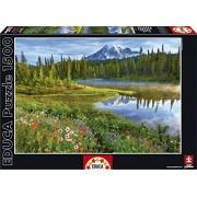 Educa - 16309 - Puzzle Classique - Parc National Du Mont Rainier - Etats-unis - 1500 Pièces