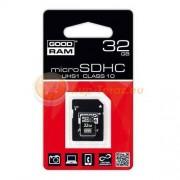 Goodram Karta pamięci Goodram micro SDHC 32 GB class10 + adapter