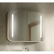 Dulap suspendat cu oglinda 80 cm bej Ideal Standard gama DEA
