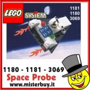 LEGO SYSTEM Space Probe codice 1181 / 3069