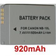 Batterie Camescope Canonpowershot Sx40 Hs Nb-10l Pour Camescope Ou Appareil Photo