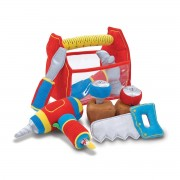 Melissa & Doug Toolbox Fill & Spill Toddler Toy - Red