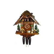 "ISDD Cuckoo Clock - Reloj cucú, diseño ""Casa, dos bebedores de cerveza"""