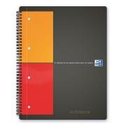Oxford Activebook 100104329 - Cuaderno de anillas (80 hojas, A4), multicolor, 1 unidad