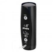 PINDO P-W300 Mini portatil de ciclo al aire libre Bluetooth manos libres Negro