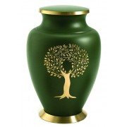 Grote Messing Aria Tree of Life Urn (3.3 liter)