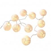 LED-lampionslinger, wit