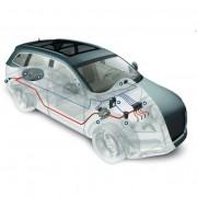 Instalatie GPL Dacia Logan rezervor interior toroidal 54l Lovato GAS Italia
