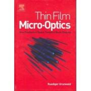 Thin-film Micro-optics by Ruediger Grunwald