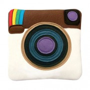 Cool Social Media Logo Pillows For Your Home Car Room Bed Sofa Whatsapp Twitter Wechat FacebookYoutube (Instagram Pillow)