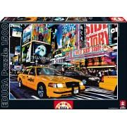 Educa Puzzle Taxi pe Times Square 1500 de piese 14816 colorat