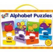 Set 26 de puzzle-uri Alphabet 2 piese