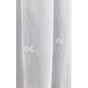 Apró mintás bútorszövet maradék,acélkék I. 44x140cm/0016/Cikksz:1231030