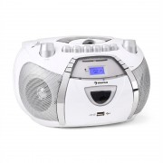 Auna Beeboy Radio Recorder CD MP3 USB alb (CS4-BEEBERRY)