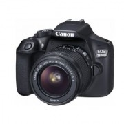 Canon EOS 1300D Kit (EF S18-55 IS II Lens) Black with 16 GB Card Carry Case with Free 5200 mAH Powerbank