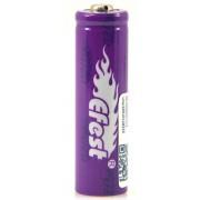 Bateria litio IMR-14500 (AA) Li-Mn 3.7V 650mAh PP