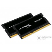 Kit memorie notebook Kingston (HX316LS9IBK2/16) HyperX Impact Black 1,35V 16GB DDR3
