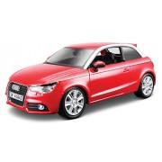 2010 Audi A1 [Bburago 22127], Rojo, 1:24 Die Cast