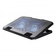 Cooler notebook Pad Hama, 13.3-15.6 inch, USB, Argintiu