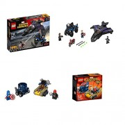 Lego Marvel: Black Panther Pursuit & Might Micros Captain America Vs. Red Skull