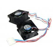 2X DC axial compact cooler 60 x 60 x 25 mm EBM-Papst 612nn