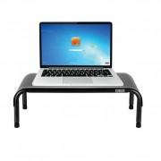 Allsop Metal Art Ergo 3 Adjustable Monitor Stand - алуминиева поставка за MacBook, преносими компютри и монитори (сива)