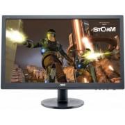 "Monitor Gaming TN LED AOC 24"" G2460FQ, Full HD, DVI, HDMI, Display Port, 1ms (Negru)"