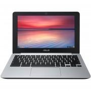 "ASUS C200MA Intel Dual Core Celeron N2830 2.16GHz, 2GB Memory, 16GB eMMC 11.6"" Chromebook Google Chrome - C200MA-DS01"