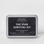 River Island Men's Society - 'The Stag Survival Kit'