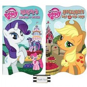 My Little Pony Raritys Fashion and Style and Applejacks Day on the Farm Board Books 2 Pack