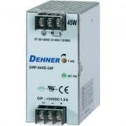 Kalapsín tápegység 45W 48V 1A, Dehner DRP-045D-48FTN (510886)