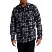 O'Neill Glacier Check Long Sleeve Shirt BLACK