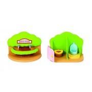 Las familias de Sylvania Nursery baño Set (Multi-Color)
