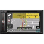 CENTRAL MULTIMIDIA DVD AUTOMOTIVO PIONEER TELA 6.2 GPS TV DIGITAL BLUETOOTH USB